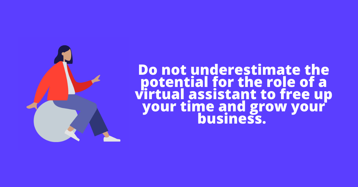 the role of a virtual assistantd